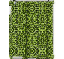 Green particles iPad Case/Skin