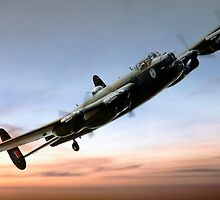 Canadian Lancaster by J Biggadike