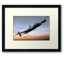 Canadian Lancaster Framed Print