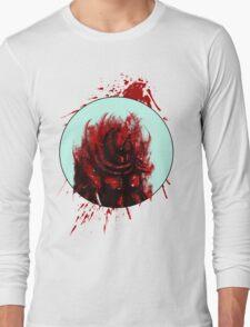 Blood Mist Warrior Long Sleeve T-Shirt