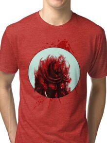 Blood Mist Warrior Tri-blend T-Shirt