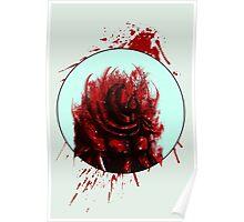Blood Mist Warrior Poster