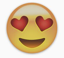 Smiling Face With Heart Shaped Eyes Emoji by emojiprints