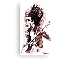 Famous Base Player Canvas Print