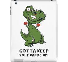"""T-Rex Boxer"" By HippoAwesomeness iPad Case/Skin"