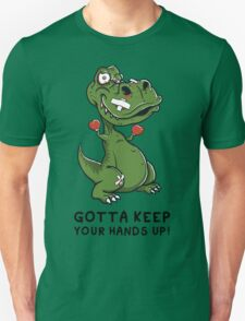 """""""T-Rex Boxer"""" By HippoAwesomeness T-Shirt"""