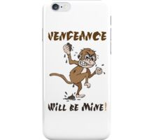 """Vengeance Monkey"" By HippoAwesomeness iPhone Case/Skin"