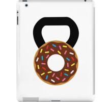 Kettlebell Donut iPad Case/Skin