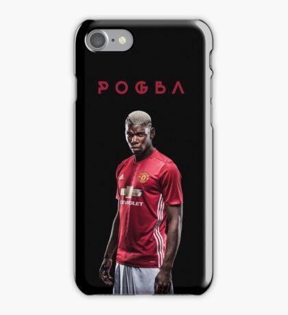 Paul Pogba In Manchester United iPhone Case/Skin