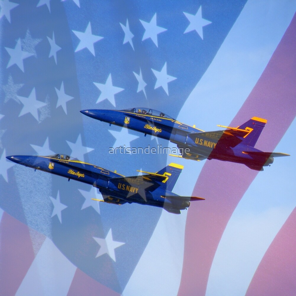 U.S. Navy Blue Angels by artisandelimage