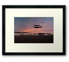 Coastal Spitfires Framed Print