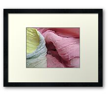 Silk Wave Framed Print