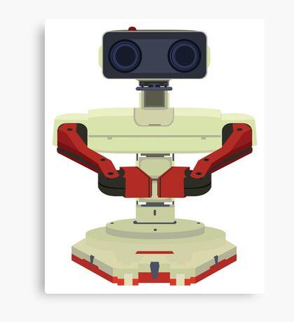 Robot R.O.B. Vector Canvas Print