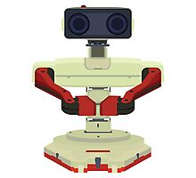Robot R.O.B. Vector Photographic Print