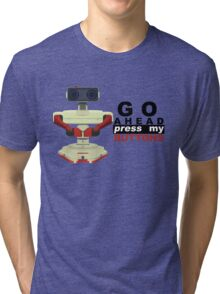 Robot R.O.B. Vector Tri-blend T-Shirt