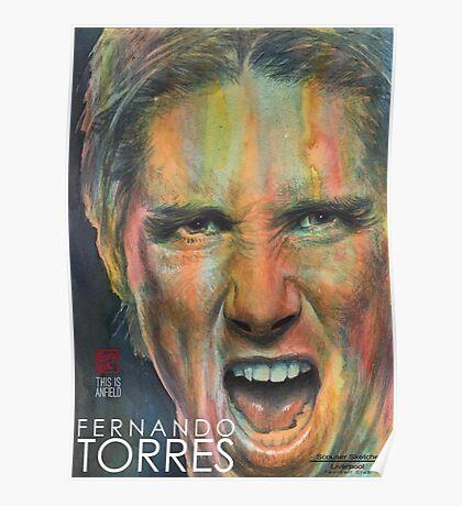 Fernando Torres - Liverpool FC Poster