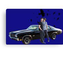 Supernatural 13 Canvas Print