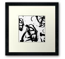 Black & White Framed Print
