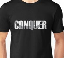 Arnold Conquer Unisex T-Shirt