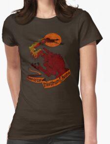 Human Heart, Monster Soul Womens Fitted T-Shirt