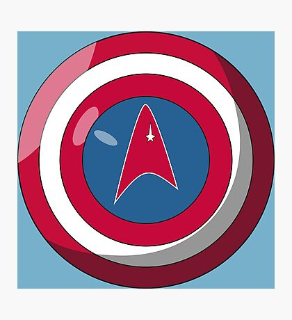 Captain Federation Photographic Print