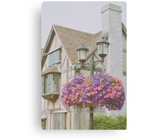Shakespeare's Birth Place Canvas Print