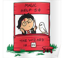 Wizard For Hire Poster