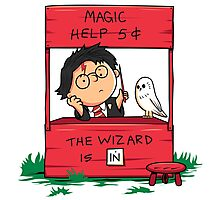 Wizard For Hire Photographic Print