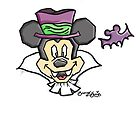 Halloween Mickey by SarahCohn