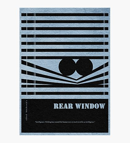 Rear Window Photographic Print