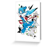 Touhou - Cirno Greeting Card