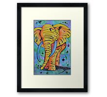 The Elephant in the Atmosphere Framed Print