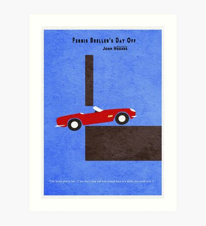 Ferris Bueller's Day Off Art Print