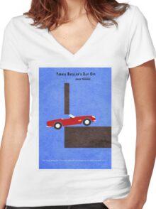 Ferris Bueller's Day Off Women's Fitted V-Neck T-Shirt