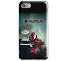 Deadpool: Yippie kay yay mother-- iPhone Case/Skin