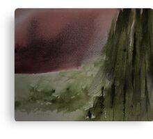 Fur trees Canvas Print
