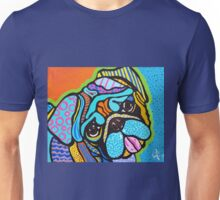 Pooped Pug Designer Dog Design Colorful  Boston Dutch Mastiff Fun Breeds Unisex T-Shirt