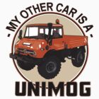 My other car is a Unimog - Orange by Groenendijk