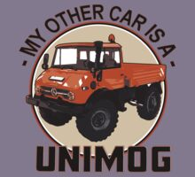My other car is a Unimog - Orange Kids Tee
