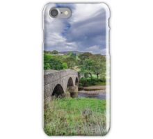 Swaledale Packhorse Bridge iPhone Case/Skin