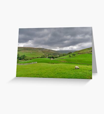 Yorkshire Dales View Greeting Card