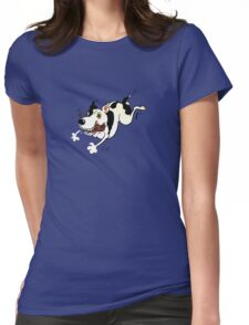 Stella and her stick Womens Fitted T-Shirt