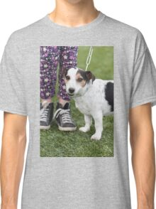 cute dog with baby Classic T-Shirt