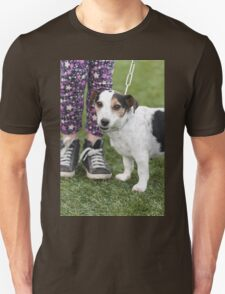 cute dog with baby T-Shirt