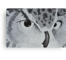 Owl Be Watching You Canvas Print