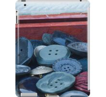 old buttons iPad Case/Skin
