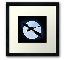 Full Moon Dragon Framed Print