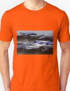 boat on the river T-Shirt