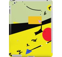 Party in the desert  iPad Case/Skin