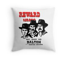 Modern Wanted Poster Throw Pillow